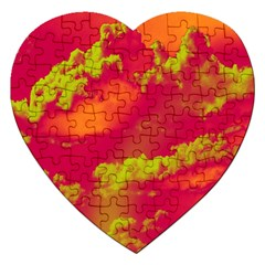 Sky Pattern Jigsaw Puzzle (heart) by Valentinaart