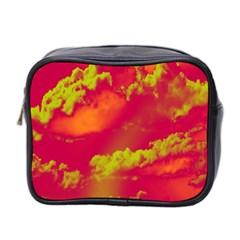 Sky Pattern Mini Toiletries Bag 2 Side by Valentinaart