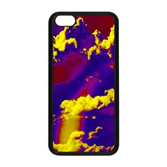 Sky Pattern Apple Iphone 5c Seamless Case (black) by Valentinaart