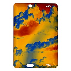 Sky Pattern Amazon Kindle Fire Hd (2013) Hardshell Case by Valentinaart