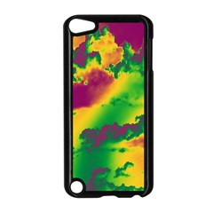 Sky Pattern Apple Ipod Touch 5 Case (black) by Valentinaart