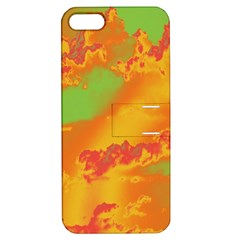 Sky Pattern Apple Iphone 5 Hardshell Case With Stand by Valentinaart