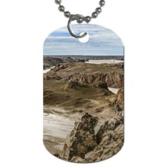 Miradores De Darwin, Santa Cruz Argentina Dog Tag (one Side) by dflcprints