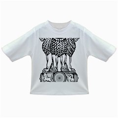 National Emblem Of India  Infant/toddler T Shirts by abbeyz71