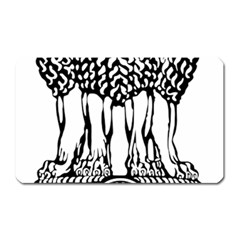 National Emblem Of India  Magnet (rectangular) by abbeyz71