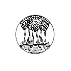 National Emblem Of India  Hat Clip Ball Marker (4 Pack) by abbeyz71