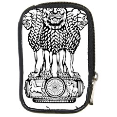 National Emblem Of India  Compact Camera Cases by abbeyz71
