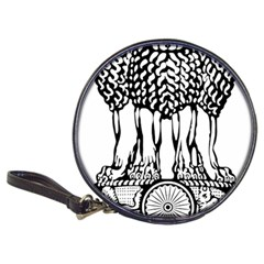 National Emblem Of India  Classic 20 Cd Wallets by abbeyz71