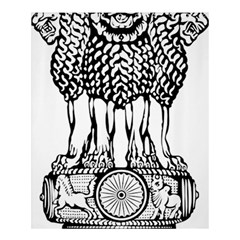 National Emblem Of India  Shower Curtain 60  X 72  (medium)  by abbeyz71
