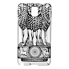National Emblem Of India  Samsung Galaxy Note 3 N9005 Hardshell Case by abbeyz71