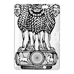 National Emblem Of India  Kindle Fire Hdx 8 9  Hardshell Case by abbeyz71