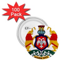 State Seal Of Karnataka 1 75  Buttons (100 Pack)  by abbeyz71