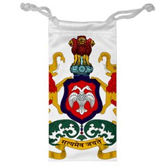 State Seal Of Karnataka Jewelry Bag
