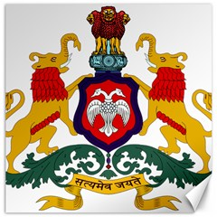 State Seal Of Karnataka Canvas 16  X 16   by abbeyz71