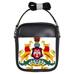 State Seal Of Karnataka Girls Sling Bags by abbeyz71