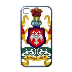 State Seal Of Karnataka Apple Iphone 4 Case (black) by abbeyz71
