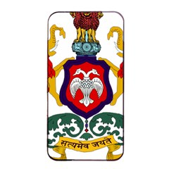 State Seal Of Karnataka Apple Iphone 4/4s Seamless Case (black) by abbeyz71