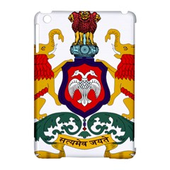 State Seal Of Karnataka Apple Ipad Mini Hardshell Case (compatible With Smart Cover) by abbeyz71