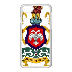 State Seal Of Karnataka Apple Iphone 7 Seamless Case (white) by abbeyz71