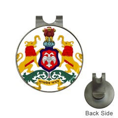 State Seal Of Karnataka Hat Clips With Golf Markers by abbeyz71