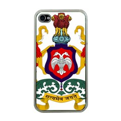 State Seal Of Karnataka Apple Iphone 4 Case (clear) by abbeyz71