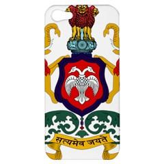 State Seal Of Karnataka Apple Iphone 5 Hardshell Case by abbeyz71