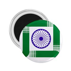 Seal Of Indian State Of Jharkhand 2 25  Magnets by abbeyz71