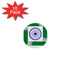 Seal of Indian State of Jharkhand 1  Mini Buttons (10 pack)  by abbeyz71