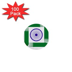 Seal Of Indian State Of Jharkhand 1  Mini Buttons (100 Pack)  by abbeyz71