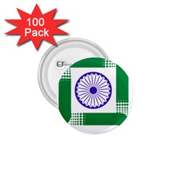 Seal Of Indian State Of Jharkhand 1 75  Buttons (100 Pack)  by abbeyz71