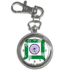 Seal Of Indian State Of Jharkhand Key Chain Watches by abbeyz71