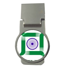 Seal Of Indian State Of Jharkhand Money Clips (round)  by abbeyz71