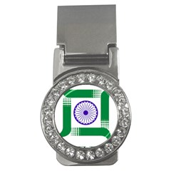 Seal Of Indian State Of Jharkhand Money Clips (cz)  by abbeyz71