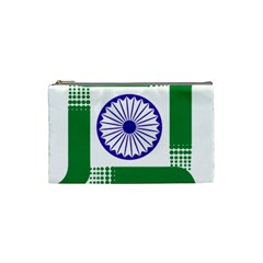 Seal Of Indian State Of Jharkhand Cosmetic Bag (small)  by abbeyz71