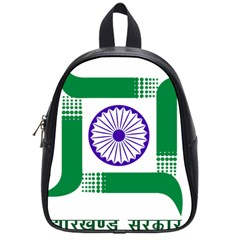 Seal of Indian State of Jharkhand School Bags (Small)