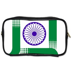 Seal Of Indian State Of Jharkhand Toiletries Bags 2 Side