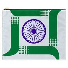 Seal Of Indian State Of Jharkhand Cosmetic Bag (xxxl)  by abbeyz71