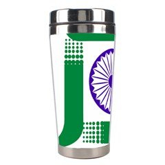 Seal Of Indian State Of Jharkhand Stainless Steel Travel Tumblers by abbeyz71