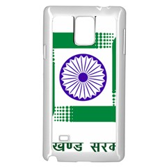 Seal Of Indian State Of Jharkhand Samsung Galaxy Note 4 Case (white) by abbeyz71