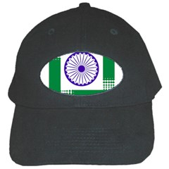 Seal of Indian State of Jharkhand Black Cap by abbeyz71