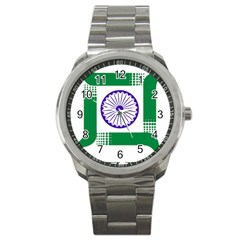 Seal Of Indian State Of Jharkhand Sport Metal Watch by abbeyz71