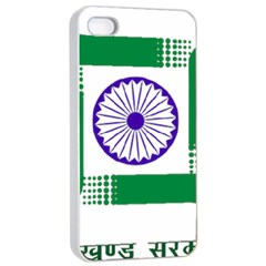 Seal Of Indian State Of Jharkhand Apple Iphone 4/4s Seamless Case (white) by abbeyz71