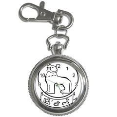 Seal Of Indian State Of Manipur Key Chain Watches by abbeyz71