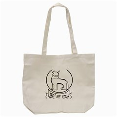 Seal Of Indian State Of Manipur Tote Bag (cream) by abbeyz71