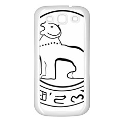 Seal Of Indian State Of Manipur Samsung Galaxy S3 Back Case (white) by abbeyz71
