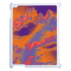 Sky Pattern Apple Ipad 2 Case (white) by Valentinaart