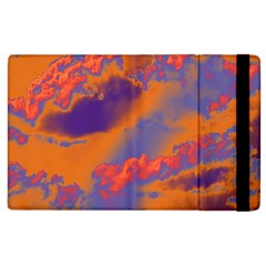 Sky Pattern Apple Ipad 2 Flip Case by Valentinaart