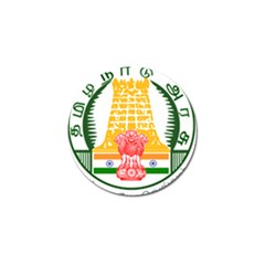 Seal Of Indian State Of Tamil Nadu  Golf Ball Marker (10 Pack) by abbeyz71