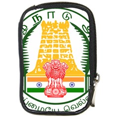 Seal Of Indian State Of Tamil Nadu  Compact Camera Cases by abbeyz71
