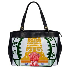 Seal Of Indian State Of Tamil Nadu  Office Handbags by abbeyz71